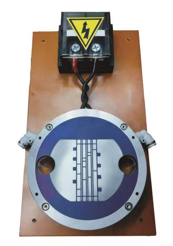 水冷轴向单面多极不规则充磁夹具